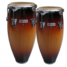 "Congas da 10"" & 11"" in SIAM OAK"