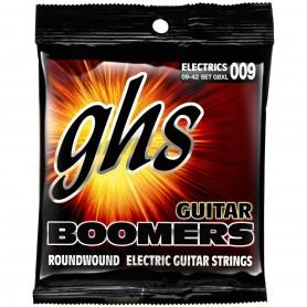 Corde serie Boomers Roundwound Nickel per chitarra elettrica in pack da 3 set