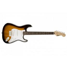 Fender Squier Bullet Strat w/Trem SSS Lrl Brown Sunburst