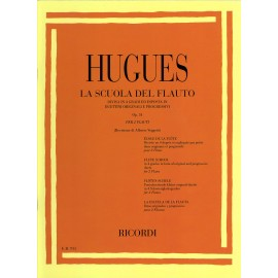 HUGUES - La Scuola Del Flauto Op. 51 - I Grado