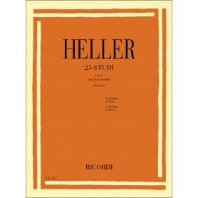 HELLER - 25 Studi Op. 47