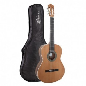 Bundle chitarra classica da studio in finitura Nature e borsa