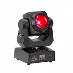60W RGBW 4in1 LED Moving Head with Infinite PAN/TILT Movement