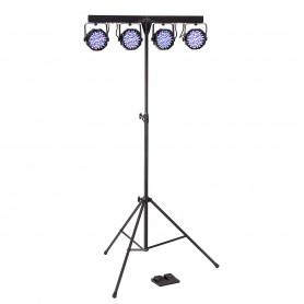 Kit Luci Completo con 4 PAR a LED