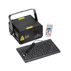 Laser Grafico da 330mW RGB con Scrittura Testi
