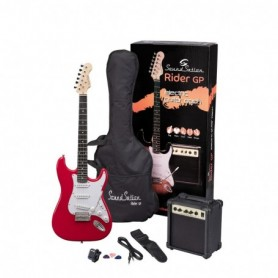 Guitar Pack elettrico - Candy Apple Red
