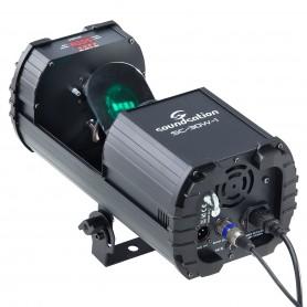 Scanner 30W LED COB RGB con 9+1 gobos