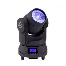 Testa Mobile Beam con 1 LED RGBW 4in1 da 60W e Zoom