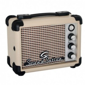 Mini amplificatore portatile 5W a batteria per chitarra