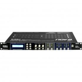 Processore di controllo digitale 2-In/4-Out con matrice di routing